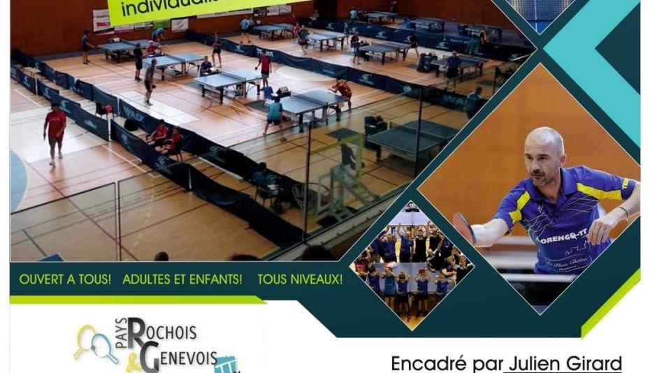 STAGE TENNIS DE TABLE FEVRIER 2020